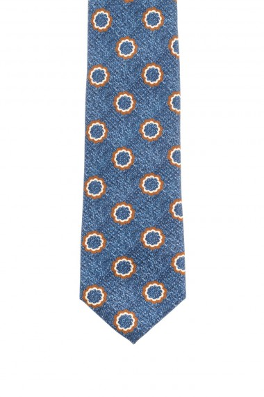 Light blue tie FRANCO BASSI for men F/W 16-17