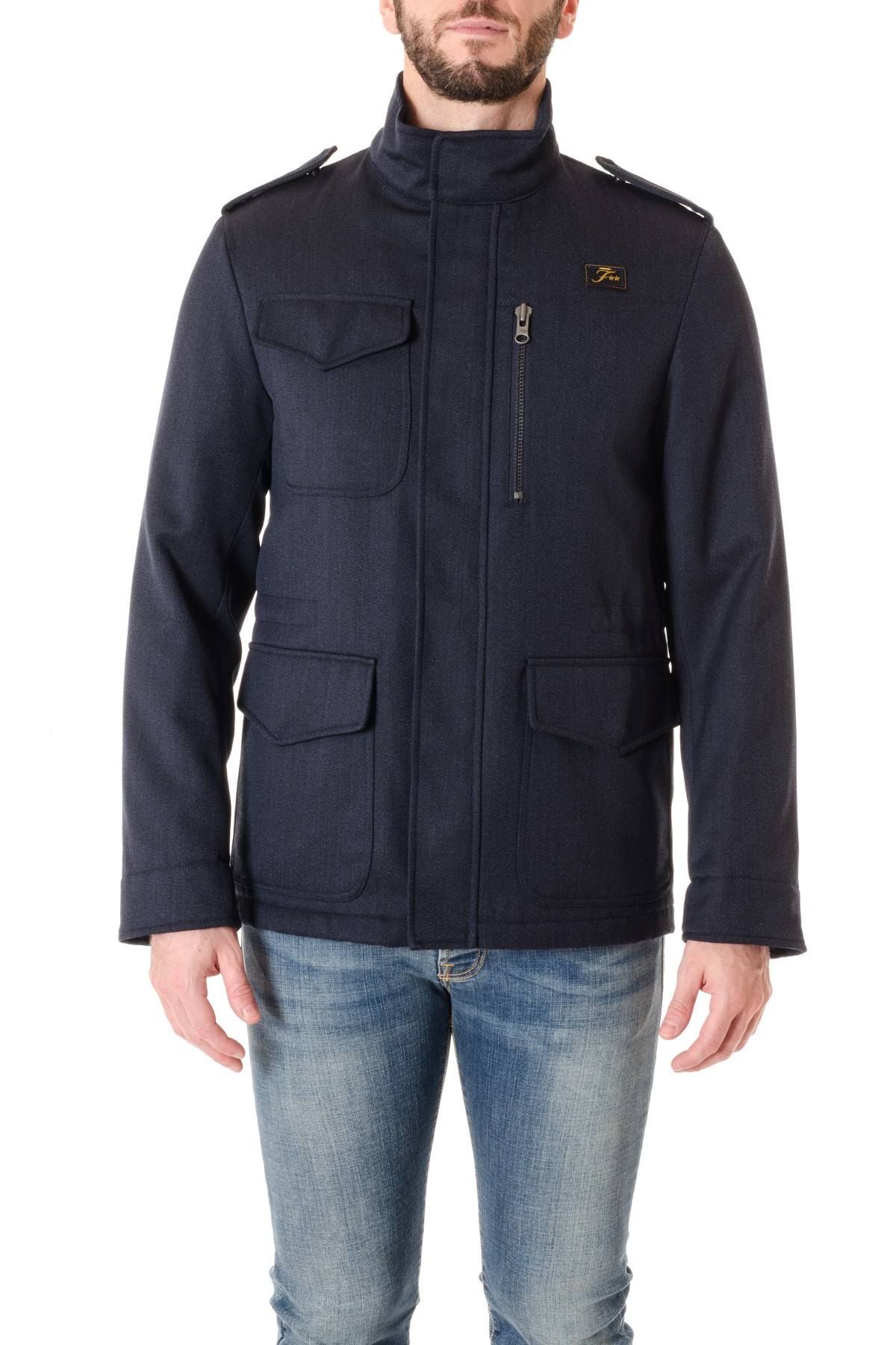 Fay Jacket For Men In Technical Wool F W 16 17 Rione Fontana