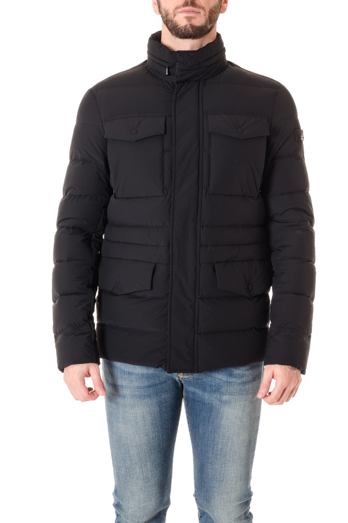 low priced 111bd 89584 PEUTEREY Black jacket for men GIOVO F/W 16-17