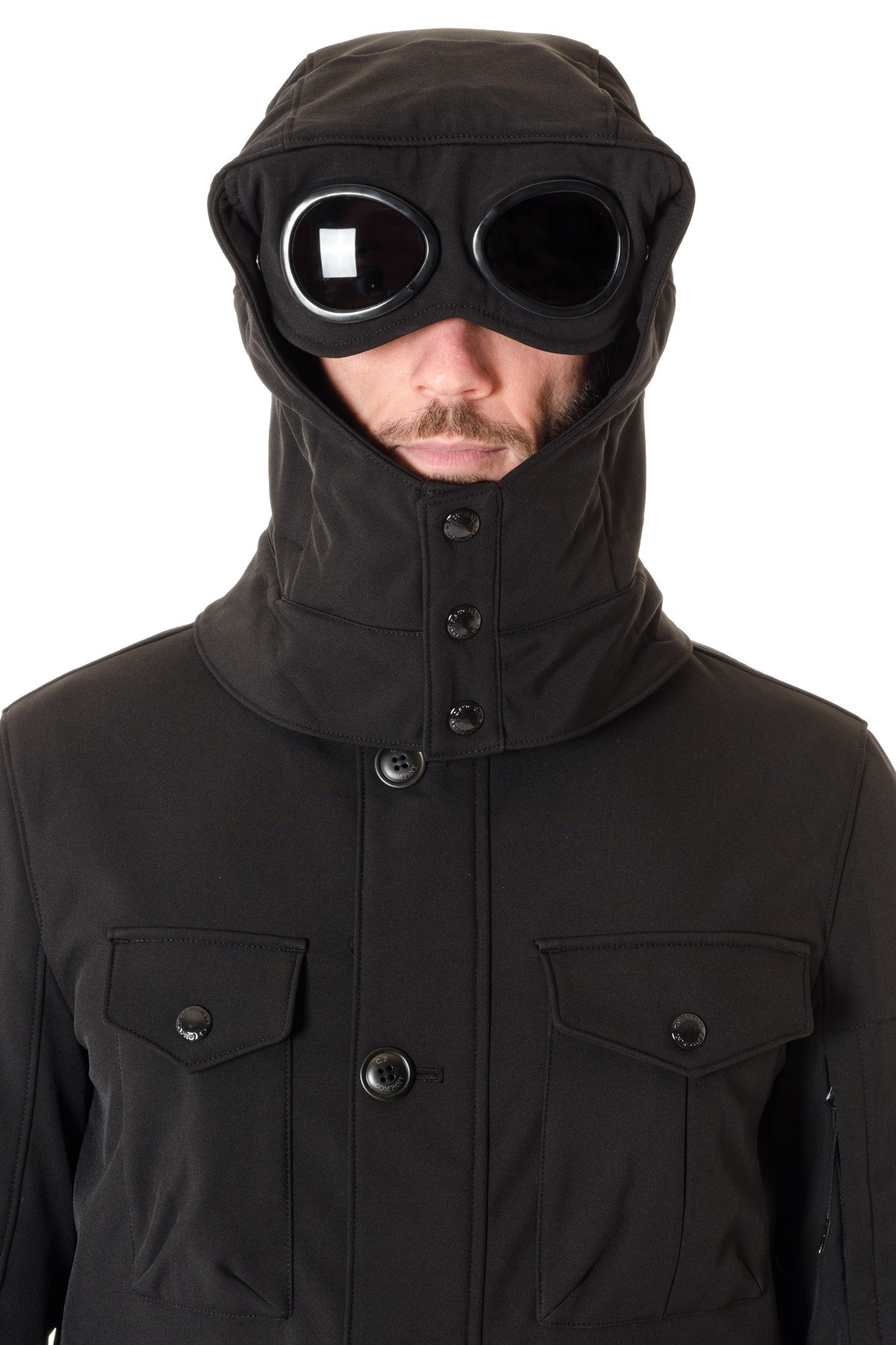 c p  company jacket for men goggle model f  w 16-17