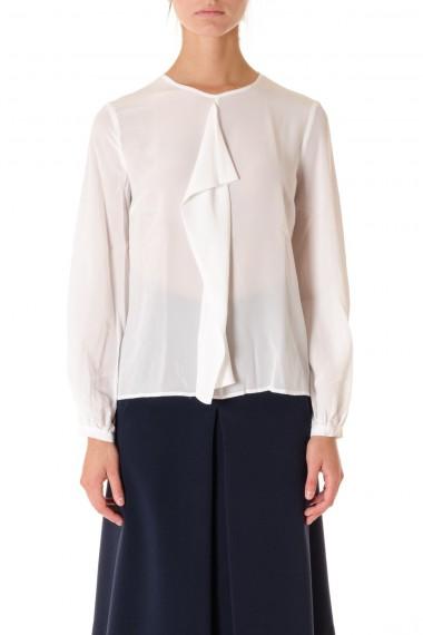 CAMICETTA SNOB A/I 16-17 Camicia bianca da donna con volan