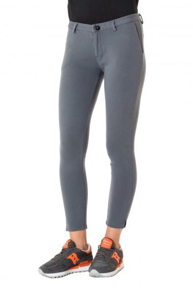 Pantalone sportivo in cotone SUN68 A/I 16-17 grigio