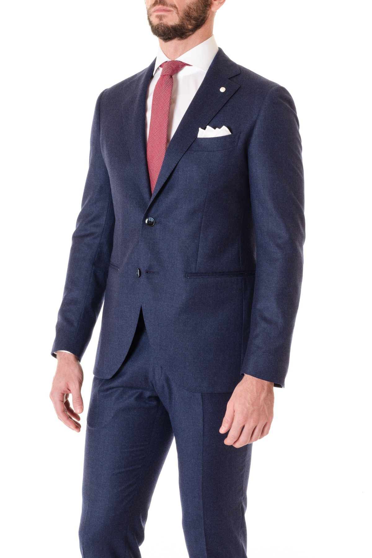 Suit LUIGI BIANCHI MANTOVA wool and silk fabric F/W 16-17 - Rione ...