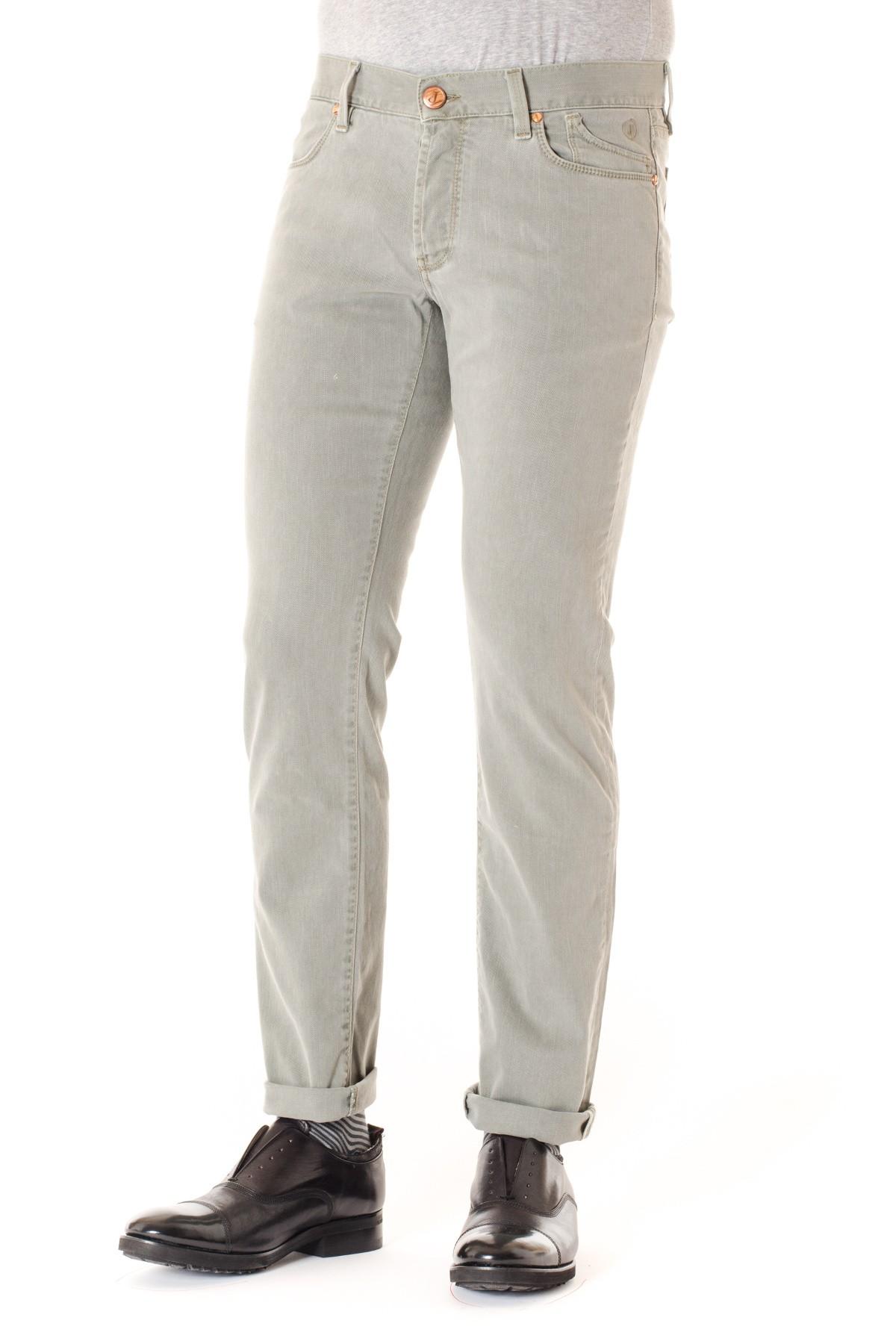 5cb84493a13b55 Pantaloni uomo JECKERSON grigio chiaro A/I - Rione Fontana