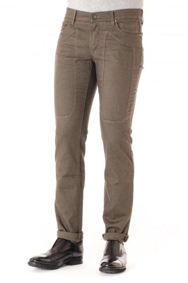 JECKERSON  Pantaloni uomo slim fit A/I 16-17 marrone