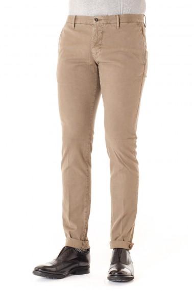 Pantaloni uomo in cotone beige INCOTEX  A/I 16-17
