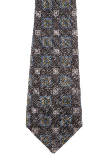 RODA Cravatta in seta con quadri A/I 16-17 per uomo