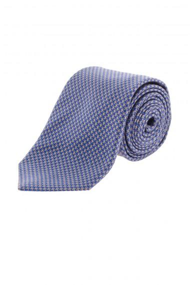 Cravatta in seta RODA blue e beige per uomo A/I 16-17