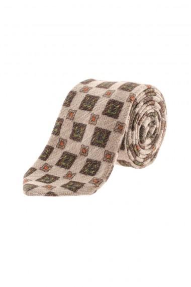 F/W 16-17 RODA Beige silk tie for men