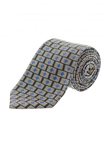 RODA Cravatta in seta per uomo A/I 16-17 con decorazioni blu