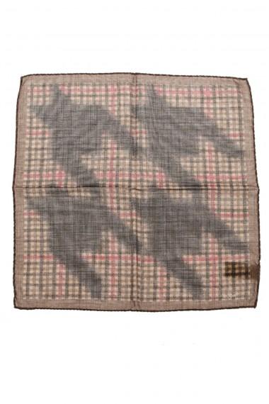 Pochette RODA per uomo tessuto misto lana e seta