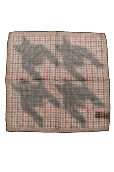 Pocket square RODA mixed silk and wool fabric