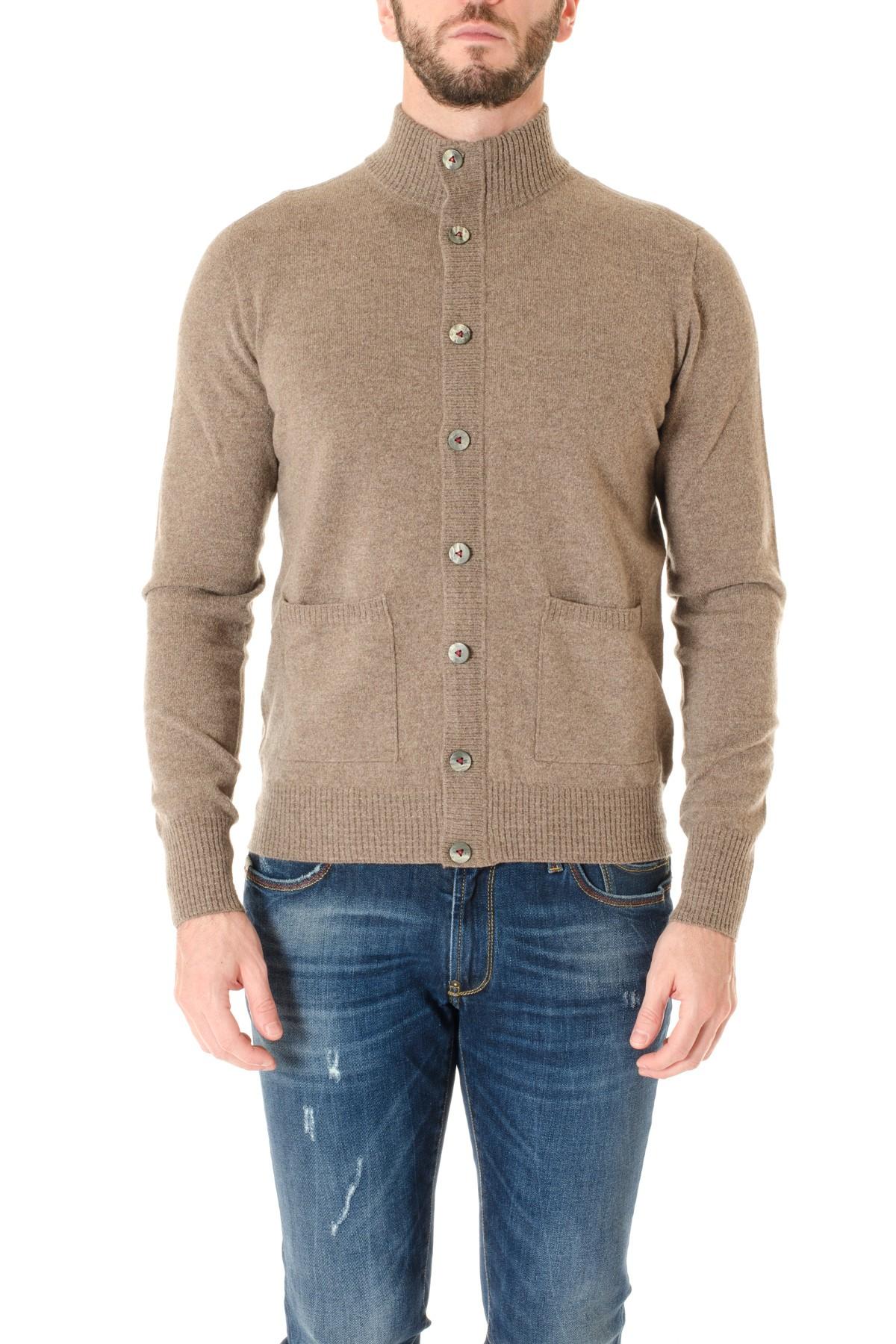 aecd5e0150e Brown cardigan sweater for men H953 F/W 16-17