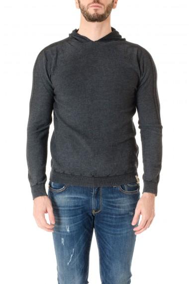 H953 Gray sweatshirt with hood F/W 16-17 for men