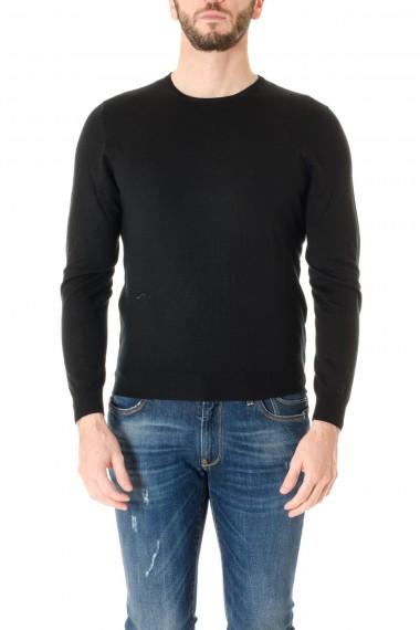 Maglia a girocollo RIONE FONTANA nero A/I 16-17 per uomo