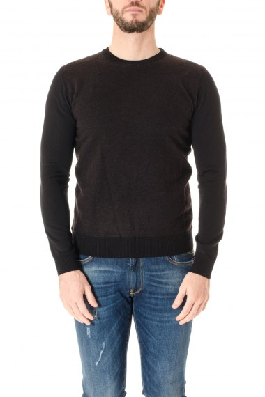 BRIAN DALES F/W 16-17 Round neck sweater for men
