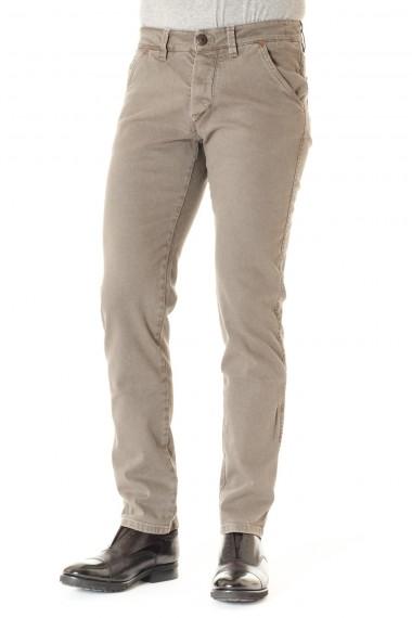 Pantalone in cotone per uomo A/I 16-17 grigio BARBA