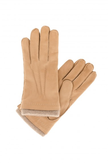 Brown gloves for men ALPO F/W
