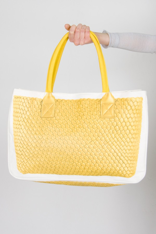 Rione Bag Fontana Shopping Pomikaki Gialla twCp5Sq