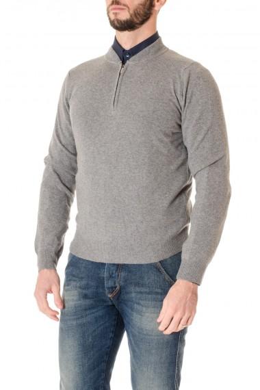 F/W 16-17 Gray sweater wih zip RIONE FONTANA for men