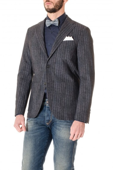 Pinstripe jacket TRAIANO for men