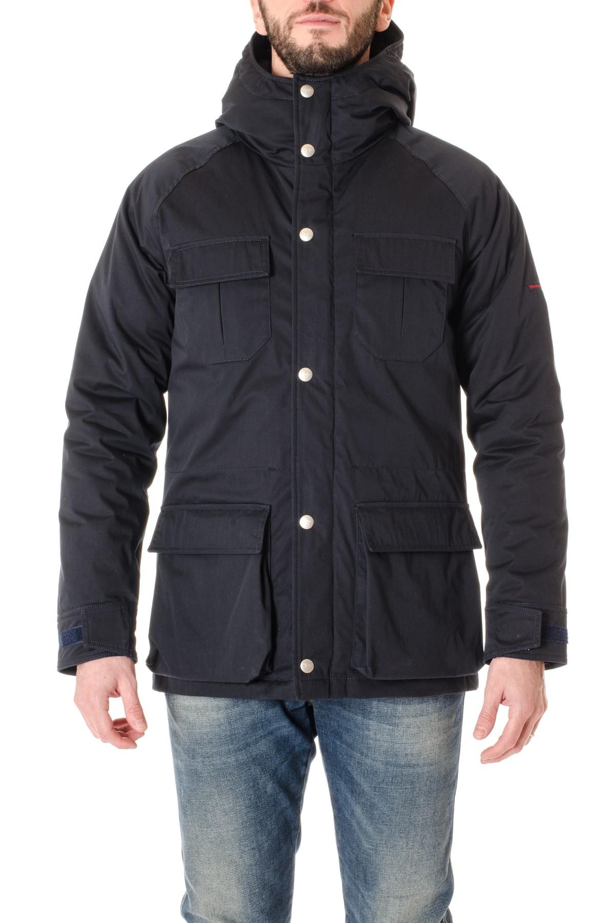 54bada2952b41 Blue padded jacket HOLUBAR F/W 16-17 DEER HUNTER - Rione Fontana