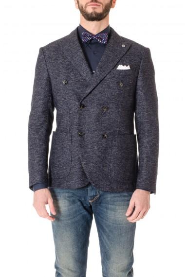 DOMENICO TAGLIENTE Blue jacket for men F/W 16-17