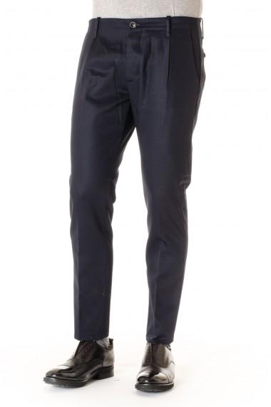 Dark blue trousers NINE IN THE MORNING for men F/W 16-17