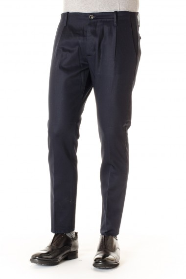 Pantaloni uomo NINE IN THE MORNING blu scuro A/I 16-17