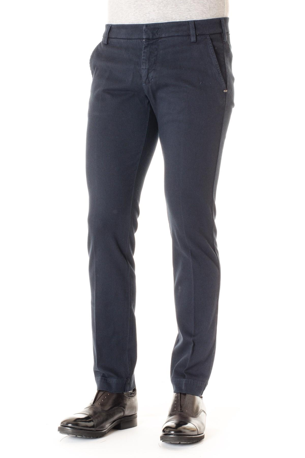 01f2433bea254 ENTRE AMIS Pantaloni in cotone blu A I per uomo - Rione Fontana