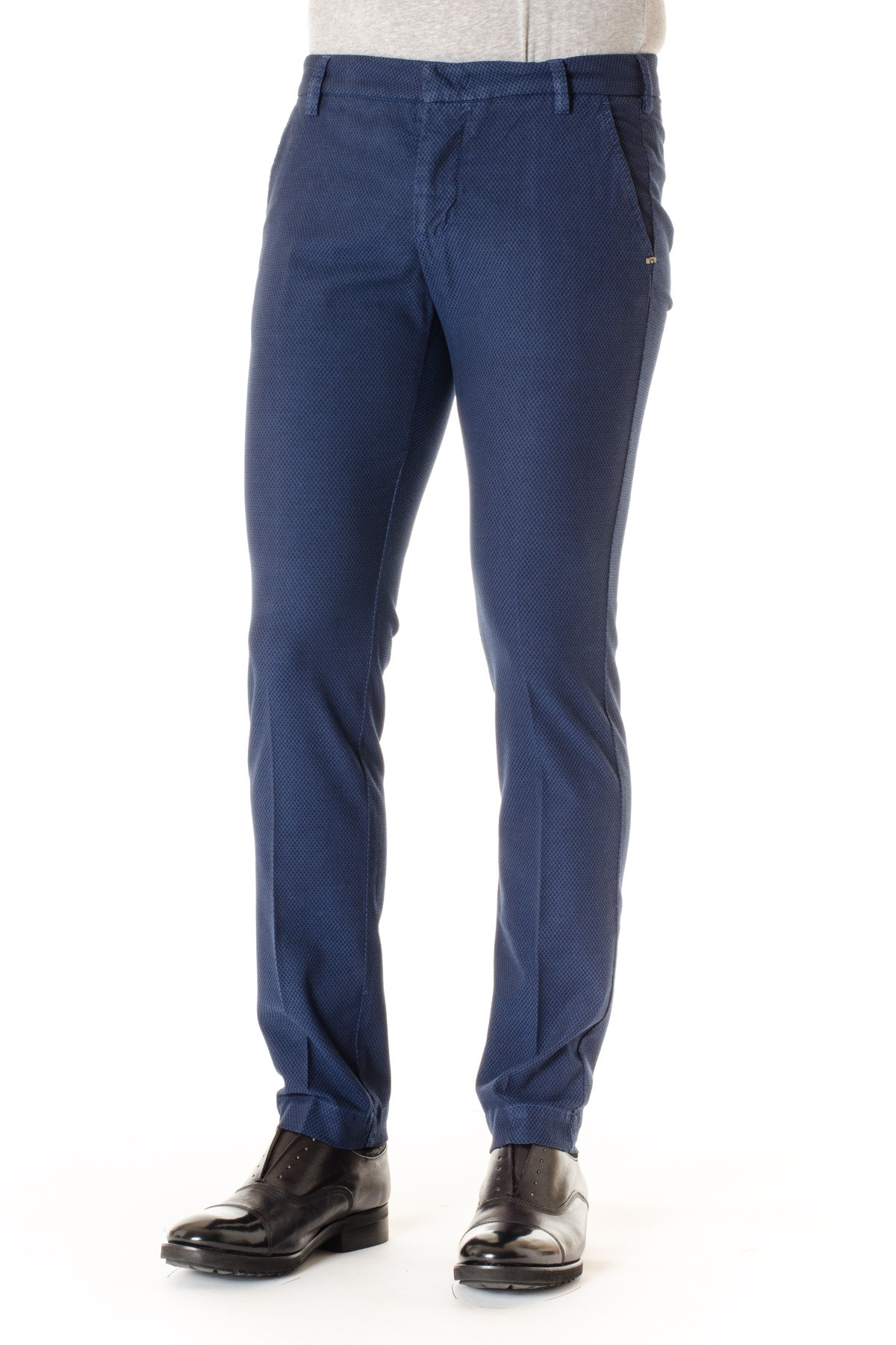 3a9590d7035d5 Pantaloni in cotone A I per uomo ENTRE AMIS blu - Rione Fontana