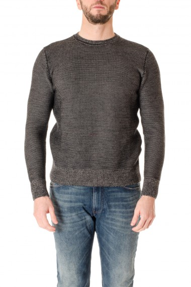 Merino wool crewneck sweater for men H953 F/W 16-17