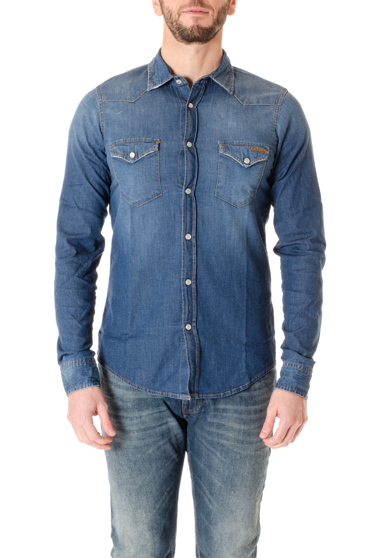 43b24038fc Shirt DENIM for men ROY ROGER S - Rione Fontana