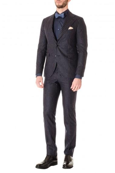 Blue pinstripe suit Pino Lerario for men