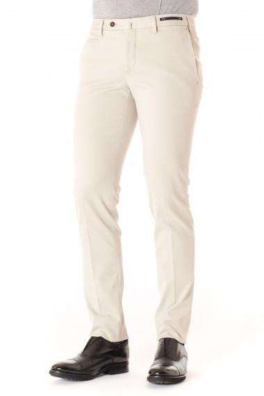 Pantaloni uomo PT01 in cotone beige A/I 16-17