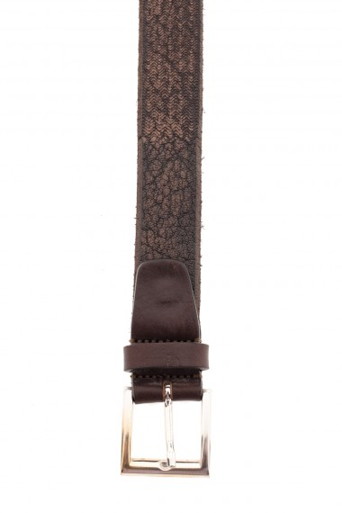 RIONE FONTANA Genuine leather belt for men F/W 16-17