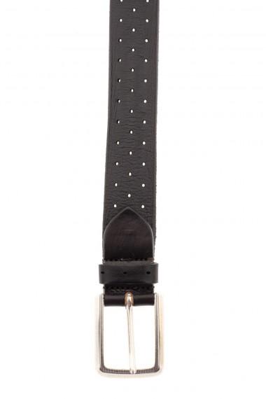 Cintura in pelle forata A/I 16-17 per uomo RIONE FONTANA