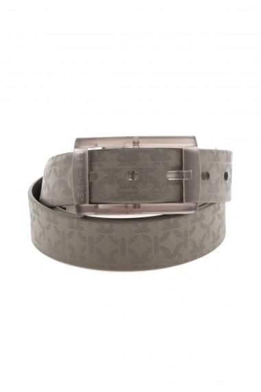 Cintura VINTAGE color fango con disegni TIE-UPS