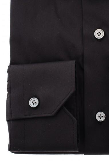 Black shirt BORSA for men F/W  Slim2