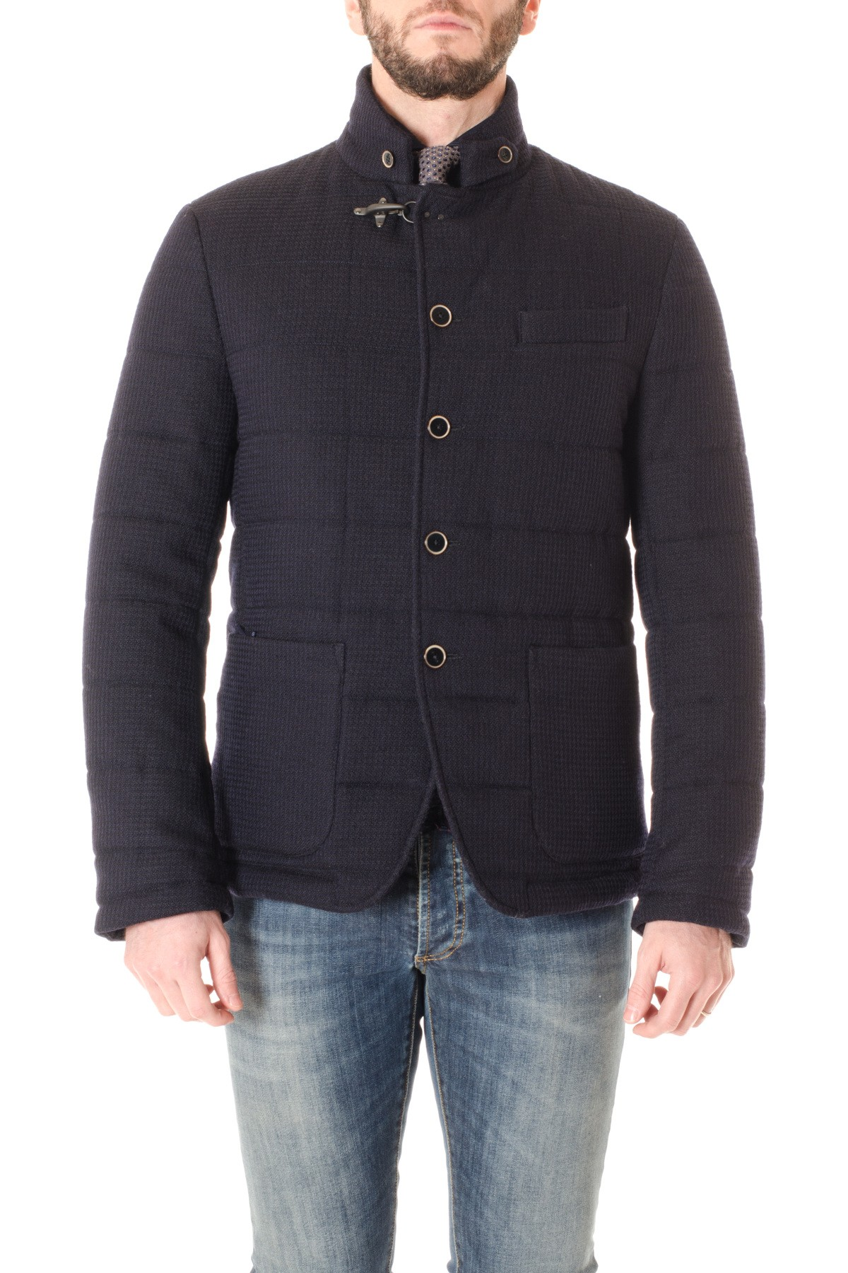 factory authentic b323a 114a2 FAY Blue jacket for men F/W 16/17
