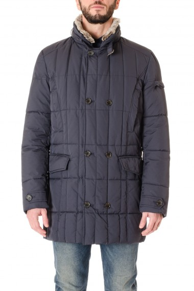 Blue quilted jacket for men RIONE FONTANA F/W 16-17