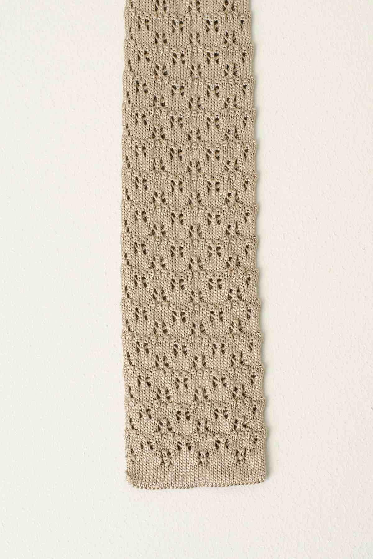 Cravatta beige ELEVENTY