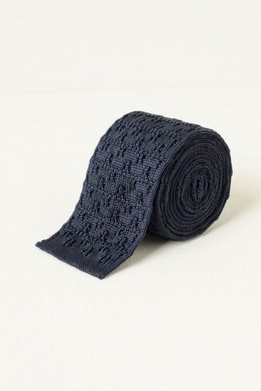 Cravatta ELEVENTY blu P/E17