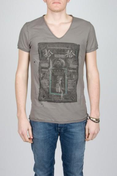 Paolo Pecora. T-shirt con stampa