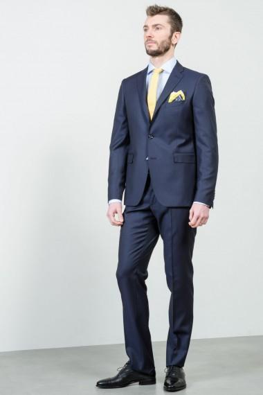 Elegant blue wool suit TAGLIATORE S/S
