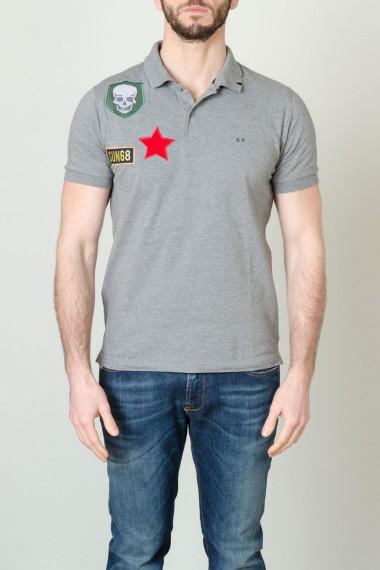 Herren-Poloshirts SUN68 F/S17