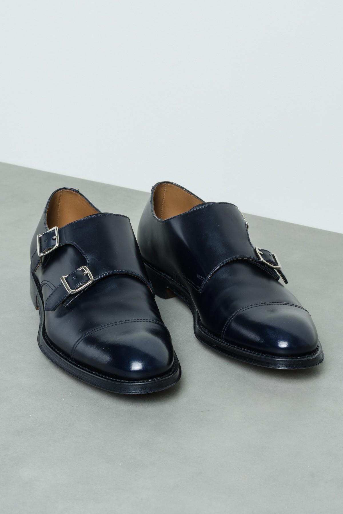 scarpe sportive f37b7 b4ee6 Scarpa Monk Strap con doppia fibbia DOUCAL'S P/E