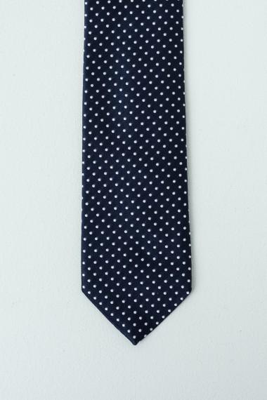 Cravatta FRANCO BASSI blu scuro P/E