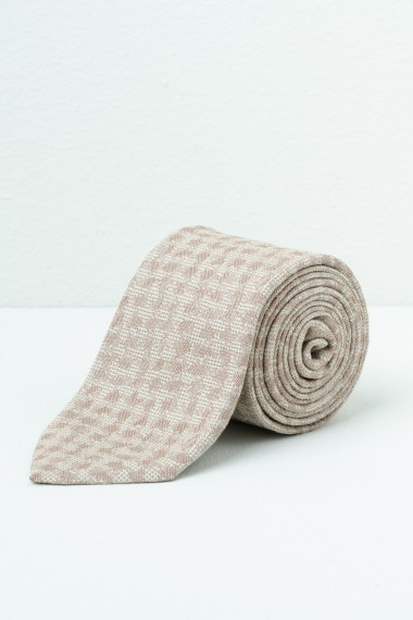 Cravatta FRANCO BASSI beige P/E17