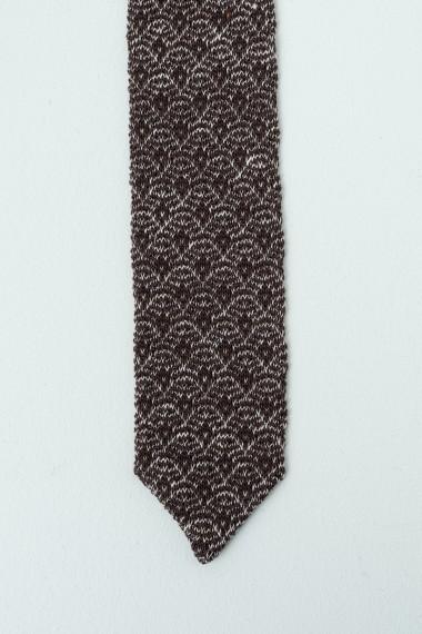 Tie LARDINI Brown / Beige S/S17